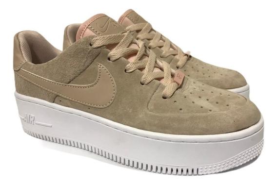 Nike Air Force 1 Sage Low Premium Mujer