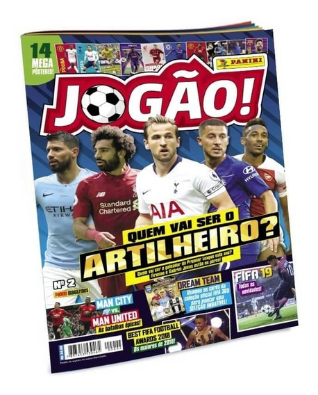 Revista Jogão Fifa 365 2018/2019 Adrenalyn Xl + Lata Pocket