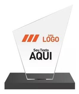 Troféu De Acrílico 30 Peças - Lisos S/ Personalizaçã