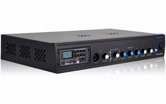 Amplificador Receiver Om4000 Sl/slbt 150w Bt Usb Fm Rec