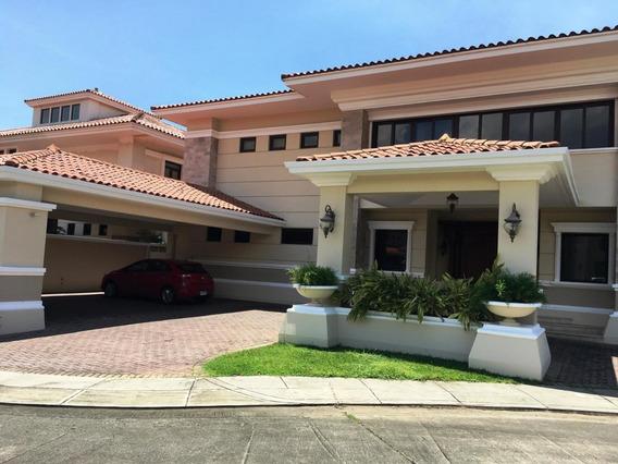 Alquilo Espectacular Casa Amoblada En Costa Del Este 19-97**