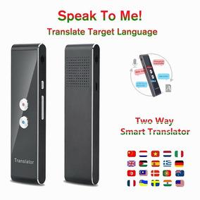T8 Em Tempo Real Multi - Língua Discurso Interativo Tradutor