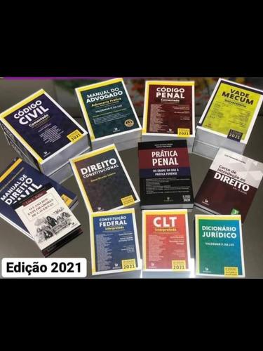 Imagem 1 de 1 de Coleção De  Livros De  Direito 2021