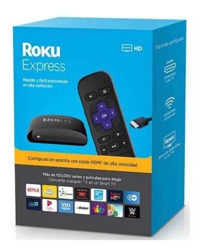 Roku Express Hd Smart Tv Hdmi Streaming Tv Netflix Youtube