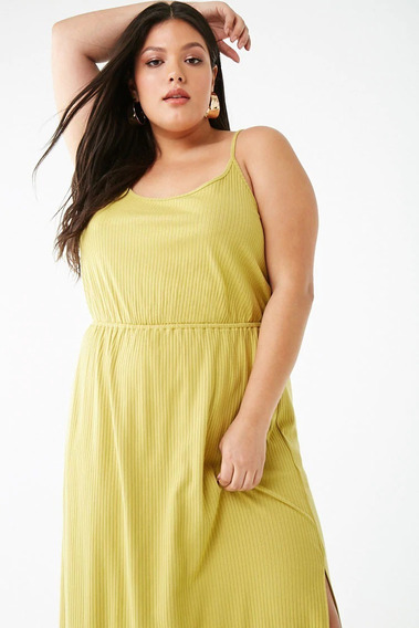 Vestido Largo Casual Morley Forever 21 Plus Size 2x 3x
