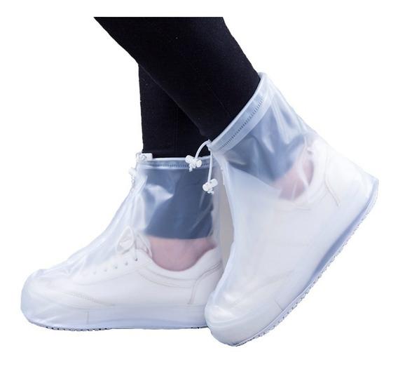 Botas De Lluvia Cubre Calzado Prácticas De Bolsillo