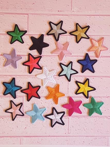 10 Estrellas Bordados, Parches, Apliques