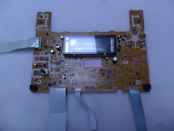 Placa Painel Frontal Display Som Panasonic Sa Ak310