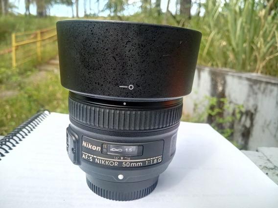 Objetiva Nikon 50mm 1.8g