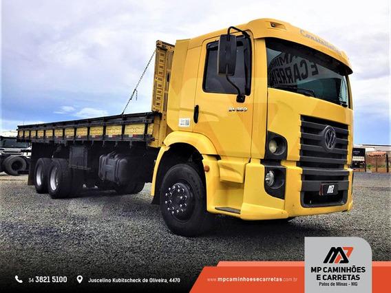 Caminhão Volksvagen Vw 24.250 6x2 Carroceria De Madeira
