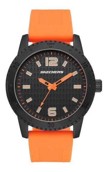 Reloj Caballero Skechers The Redondo Sr5130 Color Anaranjado