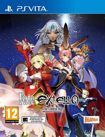 Fate Extella The Umbral Star - Ps Vita - Pronta Entrega!