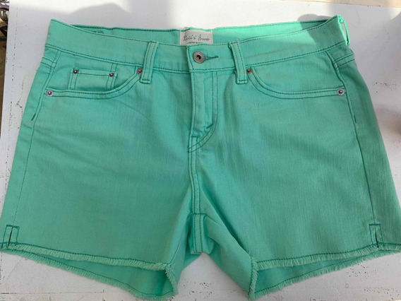 Short Jeans Levi S Mujer, Importado Talle 2