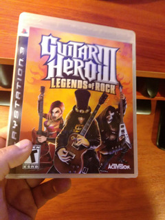 Guitar Hero Ps3 Original En Perfecto Estado Para Ps3
