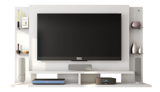 Panel Tv Mueble Rack Led Lcd 32 A 55 Pulgadas Living Moderno