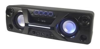 Parlante Portable Winco Usb Display Digital Radio Fm Luz Led