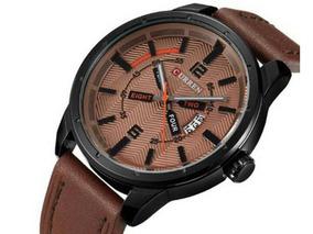Relógio Masculino Curren Analógico 8211 Marrom