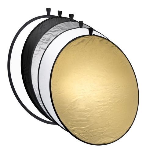 Pantalla Reflector Circular 5en1 80 Cm Fotografia +estuche