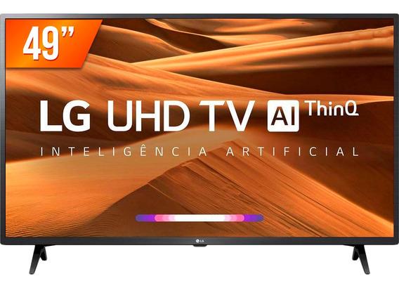 Smart Tv Led 49 Ultra Hd 4k Lg 49um 3 Hdmi 2 Usb Thinq Al