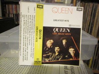 Queen Greatest Hits Cassette Incluye Bohemian Rhapsody