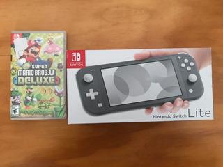 Nintendo Switch Lite Gris 32 Gb + Juego