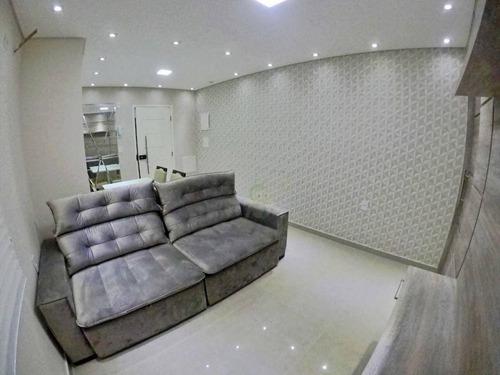 Imagem 1 de 8 de Apartamento Com 3 Dormitórios À Venda, 80 M² Por R$ 535.000,00 - Utinga - Santo André/sp - Ap1654