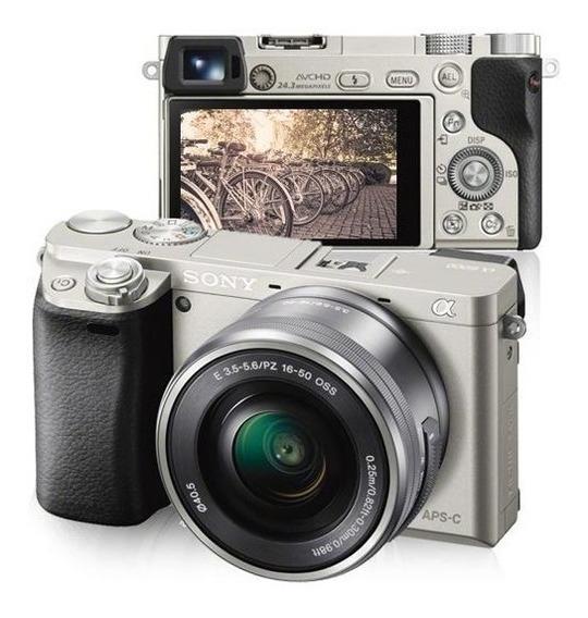 Sony Alpha A6000 + Sel1650 16 50mm Envio Na Hora