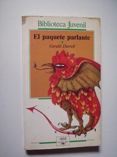 El Paquete Parlante - Gerald Durrell 1987 Detalle En Portada