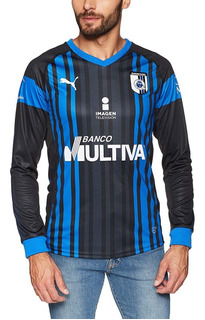 Jersey Playera Puma Local Queretaro Manga Larga Mod762563