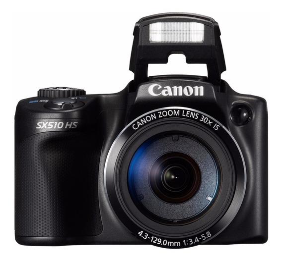Câmera Canon Powershot Sx510 Hs Semiprofissional Usado