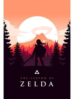 Placa - Quadro - Decorativo - The Legend Of Zelda - (v444)