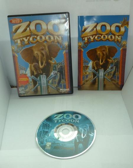 Jogo De Pc Em Cd -rom Zoo Tycoon No Estado