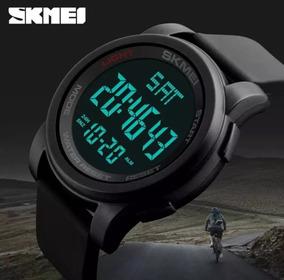 Relógio Masculino Digital Esportivo Skimei 1257 Prova D´água