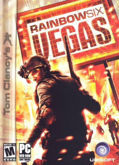 Tom Clancys Rainbow Six Vegas - Pc Mídia Digita