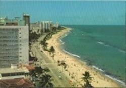Cartao Postal - Praia Da Boa Viagem - Recife - Pernambuco -
