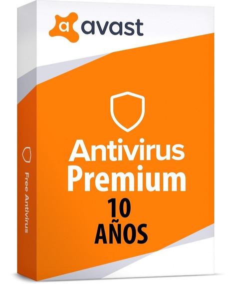 Antivirus Avast Premium 2020 - 10 Años - Original