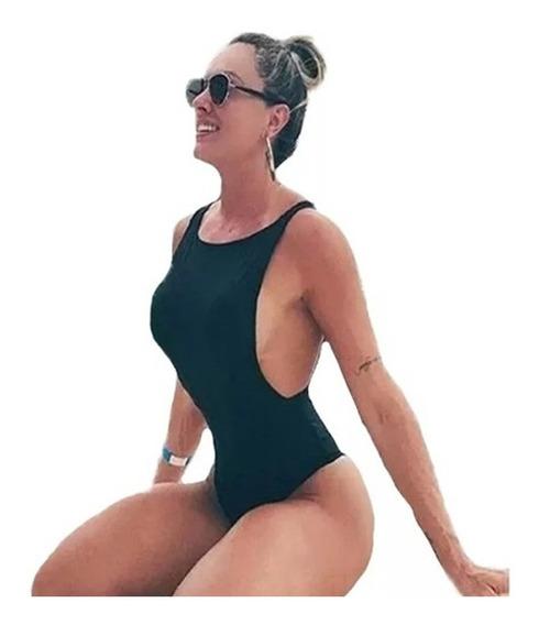 Body Feminino Com Bojo Maiô Cavado Zigzag Verão 682