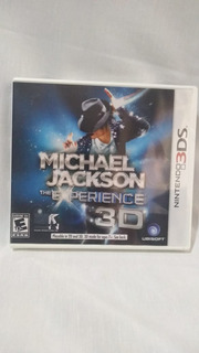 Michael Jackson:the Experience 3d - Nuevo Y Sellado - 3ds