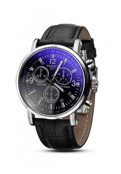 Relógio Masculino Yazole Preto
