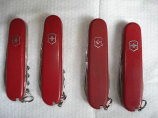 Lote Com 4 Canivete Suiço Original Antigo