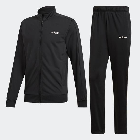 Agasalho Masculino Jaqueta E Calça adidas Basics Original