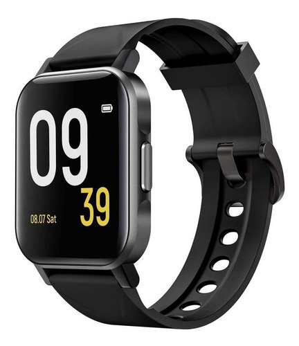 "Imagen 1 de 2 de Smartwatch Soundpeats Watch 1 1.4"" malla  black de  tpu"