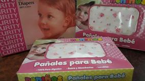Pañales De Tela Curity Y Neniños.