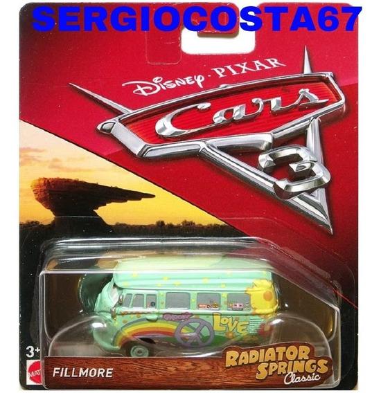 Disney Cars Fillmore Kombi Tenho Frank Red Sally Frete Baixo