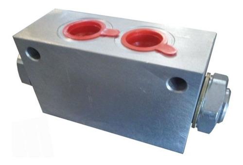 Válvula Retención Doble Pilotada 60 L/m 1/2 Bsp Orta Vdp 1/2