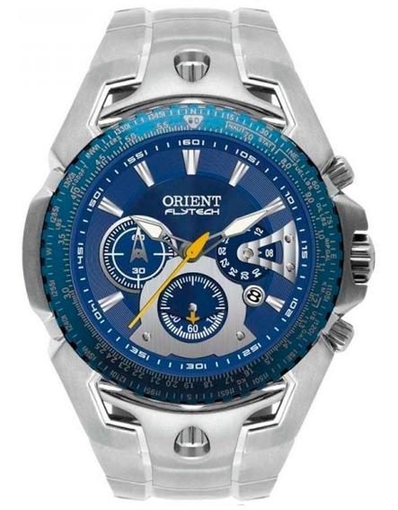 Relógio Orient Masculino Flytech *raptor Cronógrafo Mbttc006 D1sx *titânio