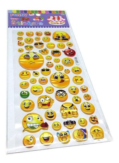 Stickers Emoji Con Relieve Colours 55 Emojis Diferentes