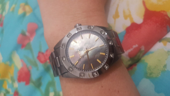 Relógio Dkny Feminino Madrepérola