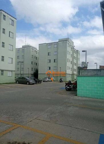Imagem 1 de 14 de Apartamento Com 2 Dormitórios À Venda, 44 M² Por R$ 185.000,00 - Cidade Parque Brasília - Guarulhos/sp - Ap3055
