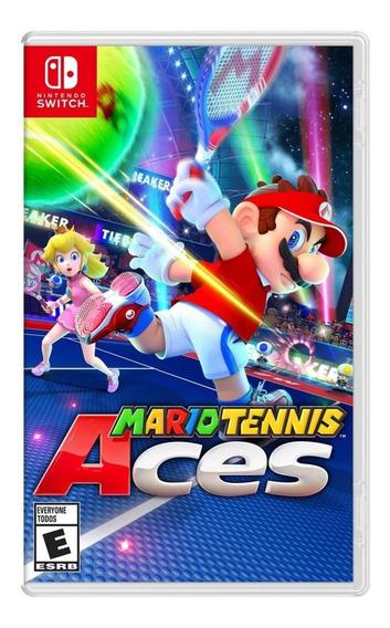 Mario Tennis Aces - Mídia Física - Switch - Novo